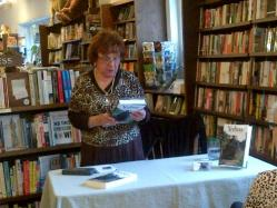 Mary Ognan reading